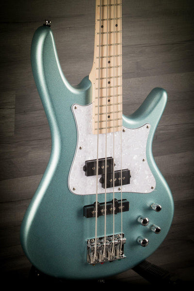 Ibanez SRMD200-SPN 4 String Bass Guitar in Sea Foam Pearl Green - MusicStreet
