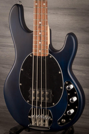 Sterling Ray4 Sub Bass - Trans Blue Satin - MusicStreet