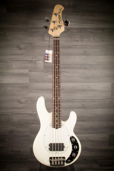 Bass - Sterling Stingray Short Scale Olympic White