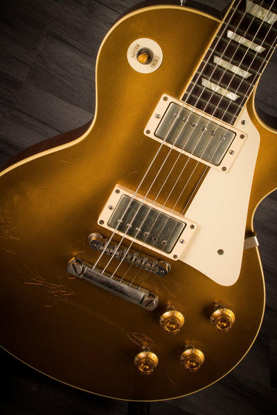 USED - Gibson '57 Historic Reissue Les Paul Gold Top