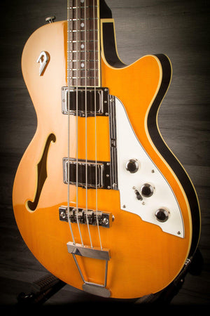 Duesenberg Starplayer Bass Trans-Orange incl. Hard case