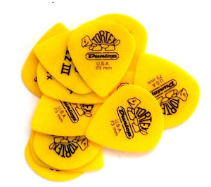 Dunlop Jazz Iii 12 Pack .73Mm Yellow