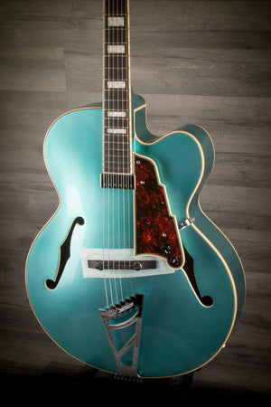 Electric Guitar - D'Angelico Premier EXL-1 Ocean Turquoise