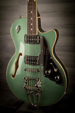 Electric Guitar - Duesenberg Starplayer TV - Catalina Harbour Green Inc Hard Case