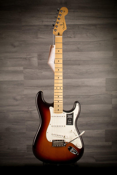 Electric Guitar - Fender Player Stratocaster - Sunburst Maple Neck