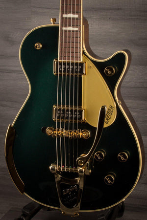 Electric Guitar - Gretsch G6128T-57 Vintage Select Duo Jet Cadillac Green