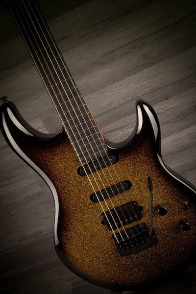 "Electric Guitar - MusicMan BFR Luke III ""Shadow Gold"""