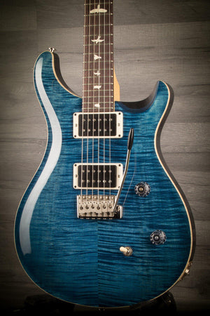 Electric Guitar - PRS CE24 Gloss Flame - Whale Blue