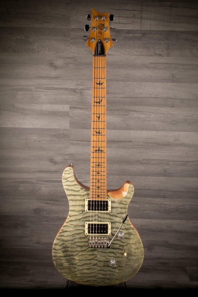 Electric Guitar - PRS - SE Custom 24 Roasted Maple Limited Edition (Europe) - Trampas Green