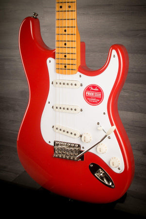 Electric Guitar - Squier Classic Vibe '50s Stratocaster Fiesta Red
