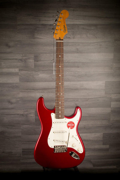 Electric Guitar - Squier Classic Vibe '60s Stratocaster Candy Apple Red