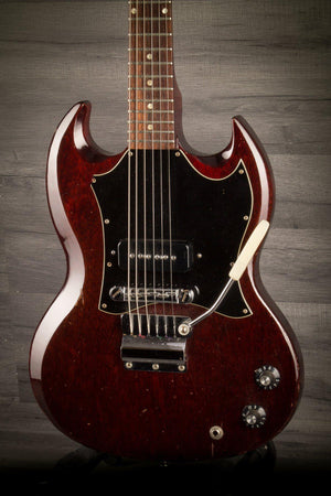 Electric Guitar - USED - 1967 Gibson SG Junior Cherry