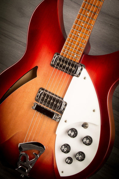 Electric Guitar - USED - 1997 Rickenbacker 330 In Fireglo