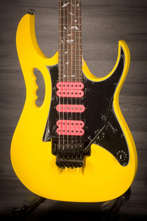 Ibanez JEMJRSP-YE Steve Vai Signature Jem Junior, Yellow