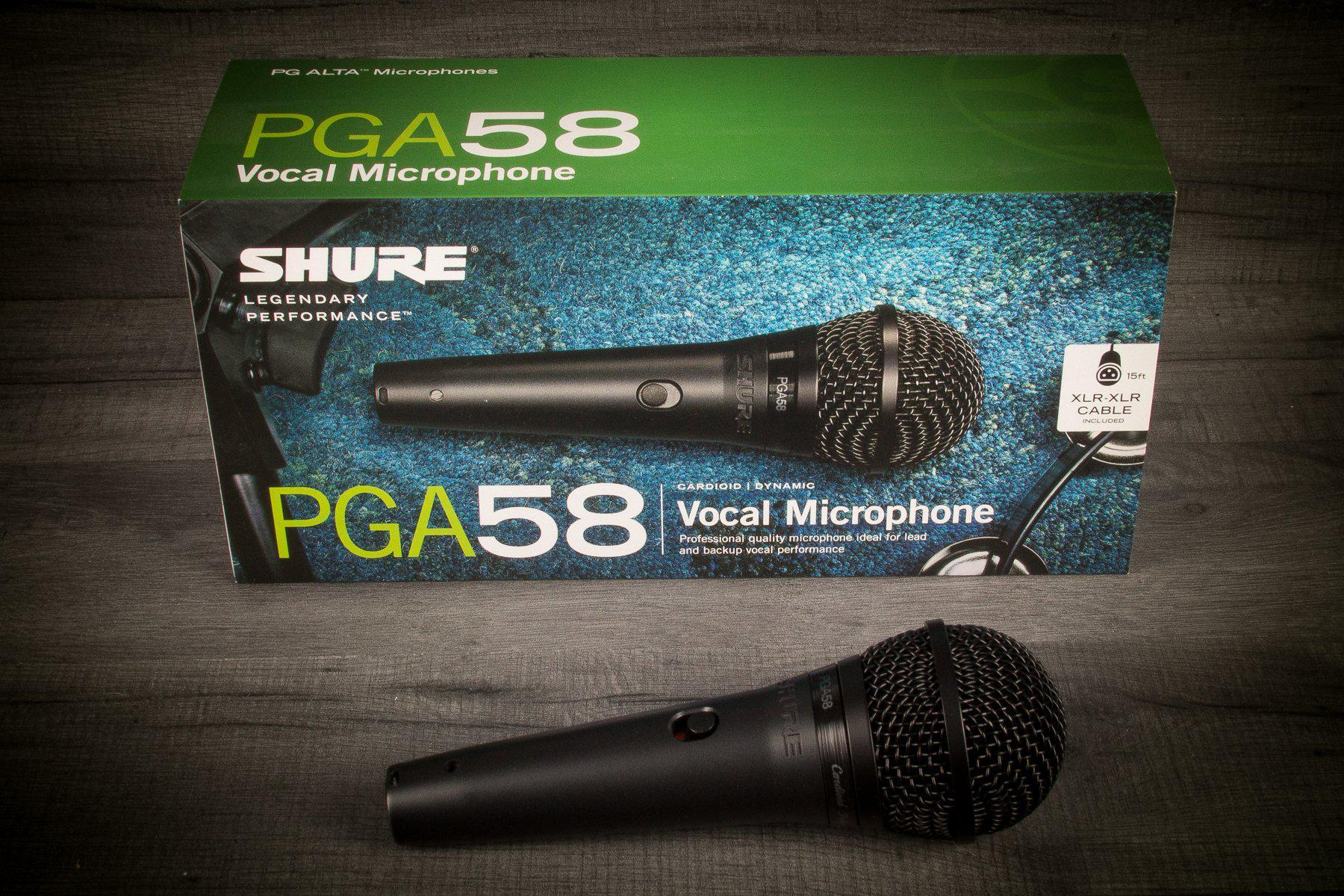 Pga58 Cardioid Dynamic Vocal Microphone - MusicStreet