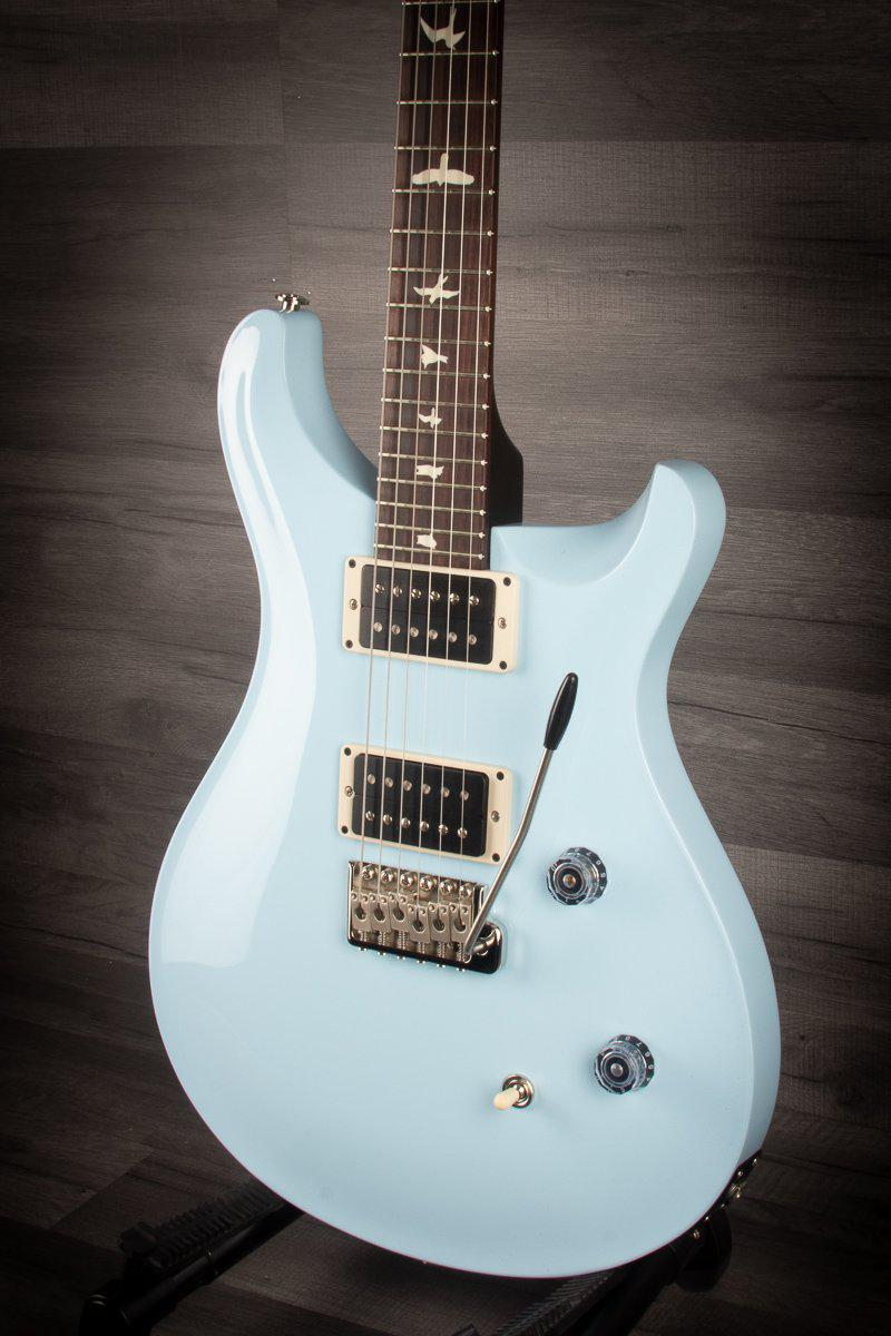 PRS CE24 Gloss Baby Blue, Blackout Neck - MusicStreet