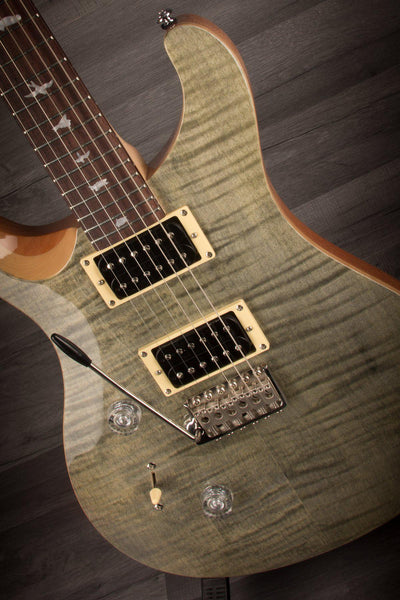 PRS SE Custom 24 Trampas Green, Left Handed - 2018 model