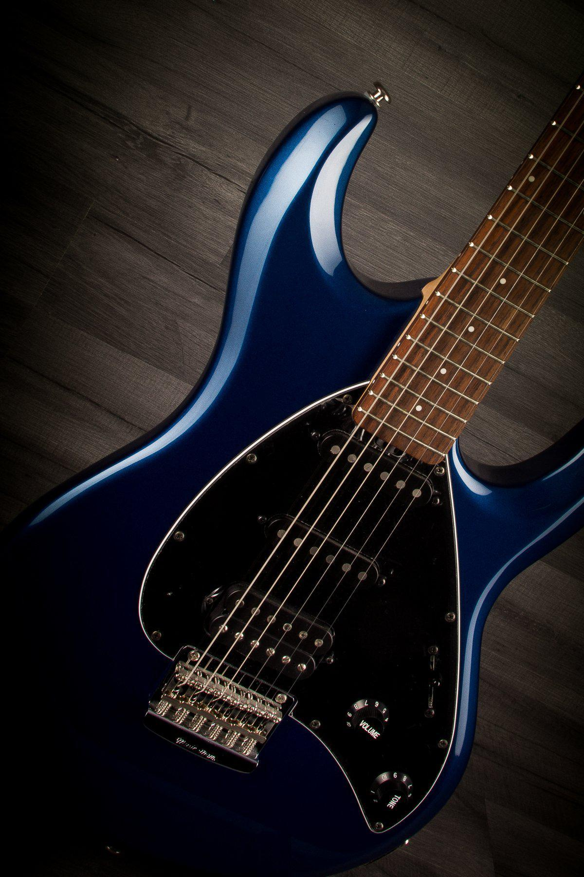 Music Man Silhouette Special Hss Pearl Blue This Is The Musicman Way You Have To Think Of