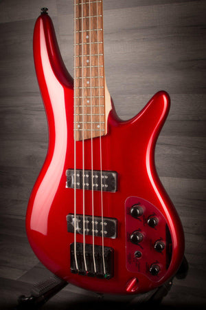 Ibanez Sr300EB-CA Bass Guitar - Candy Apple Red - MusicStreet