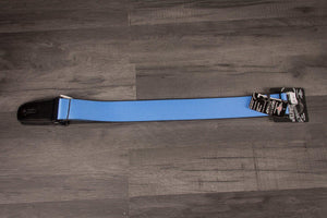Strap - Buckle Down Baby Blue Guitar Strap
