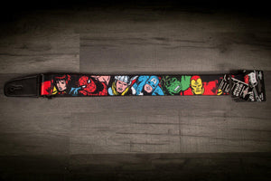Strap - Buckle Down Marvel Characters Guitar Strap