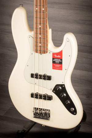 Fender American Pro Jazz Bass - Olympic White