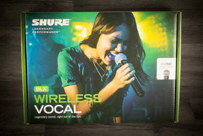 Wireless Microphone - Shure Sm Wireless Rack-Mountable Vocal System With Sm58