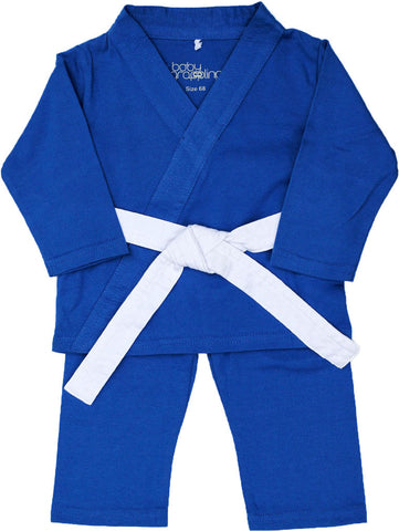 Baby gi  Blue w/white belt