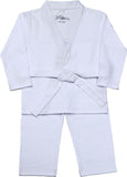 White Baby gi for girls and boys!