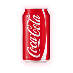 Coca Cola 375mL can