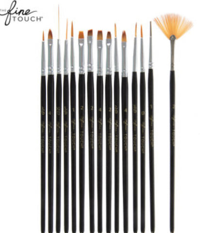 15 Piece Detail Paint Brushes
