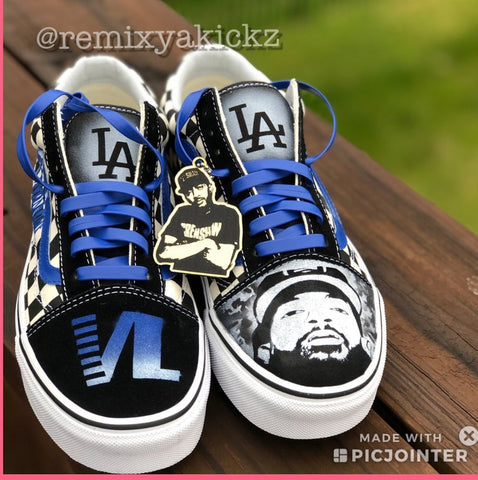 Nipsey Hussle Custom Vans (Hangtag not included)
