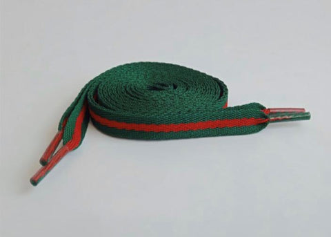 Gucci Themed Flat Laces