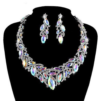 AB Marquise Necklace Set