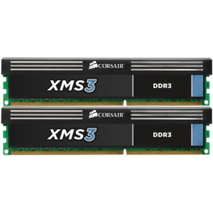 CMX8GX3M2A1600C9 Corsair Dominator XMS3 8GB Kit (2 X 4GB) PC3-12800 DDR3-1600MHz non-ECC Unbuffered 240-Pin CL9-9-9-27 DIMM