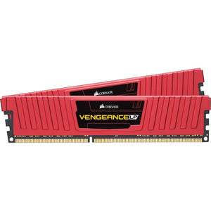 CML8GX3M2C1600C9R Corsair Vengeance LP Series 8GB Kit (2 x 4GB) PC3-12800 DDR3-1600MHz non-ECC Unbuffered CL9 9-9-9-24 240-Pin DIMM 1.5v - Rebuild IT