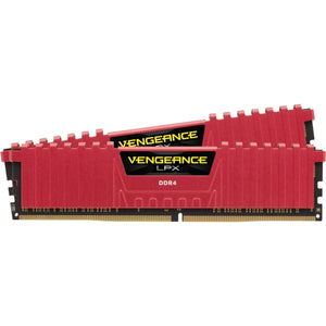 CMK8GX4M2A2133C13R Corsair Vengeance LPX 8GB Kit (2 X 4GB) PC4-17000 DDR4-2133MHz non-ECC Unbuffered CL13 (13-15-15-28) 288-Pin DIMM