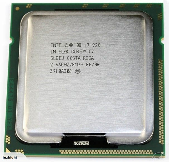 Intel Core i7-920 2.66GHz Processor - Socket 1366 - Rebuild IT