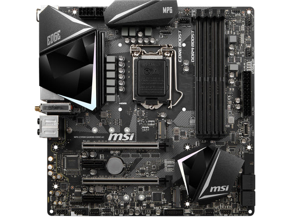 MSI MPG Z390M GAMING EDGE AC, S-1151
