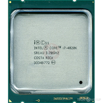 Intel Core i7-4820K 3.70GHz Processor - Socket LGA2011