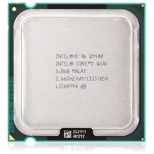 Intel Core 2 Quad 2.66GHz Processor Q9400 - Socket 775 - Rebuild IT