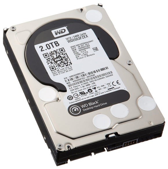WD Desktop Black 2TB HDD - WD2003FZEX-00Z4SA0 2TB - Rebuild IT