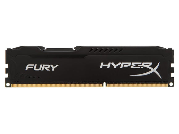 HX316C10FBK2/16 Kingston HyperX FURY Black Series 8GB Kit PC3-12800 DDR3-1600MHz non-ECC Unbuffered CL10 240-Pin - Rebuild IT