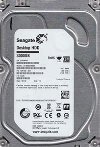 "ST3000DM001 Seagate Barracuda 3TB 7200RPM SATA 6Gbps 64MB Cache 3.5"" HDD - Rebuild IT"