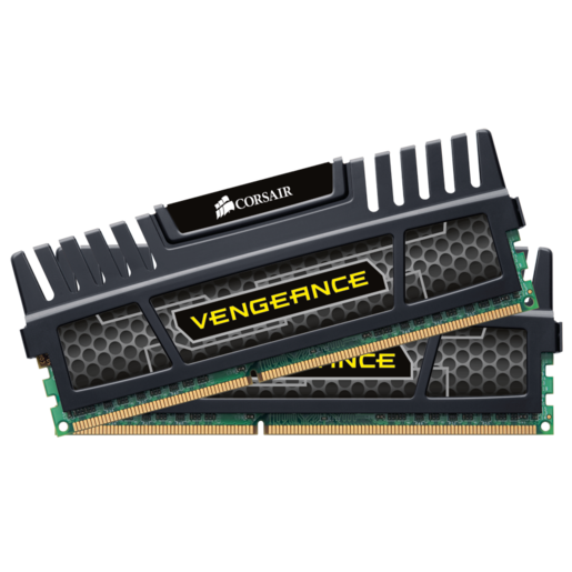 CMZ8GX3M2A1600C9 Corsair Vengeance 8GB (2 X 4GB) PC3-12800 DDR3-1600MHz Unbuffered 240-Pin CL9 (9-9-9-24) DIMM - Rebuild IT