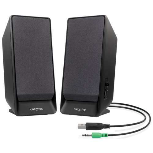 Creative A50 USB Powered Speakers - 3.5mm Stereo Jack