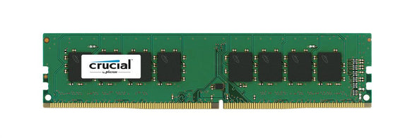 CT8G4DFS824A Crucial 8GB PC4-19200 DDR4-2400MHz non-ECC Unbuffered CL17 288-Pin