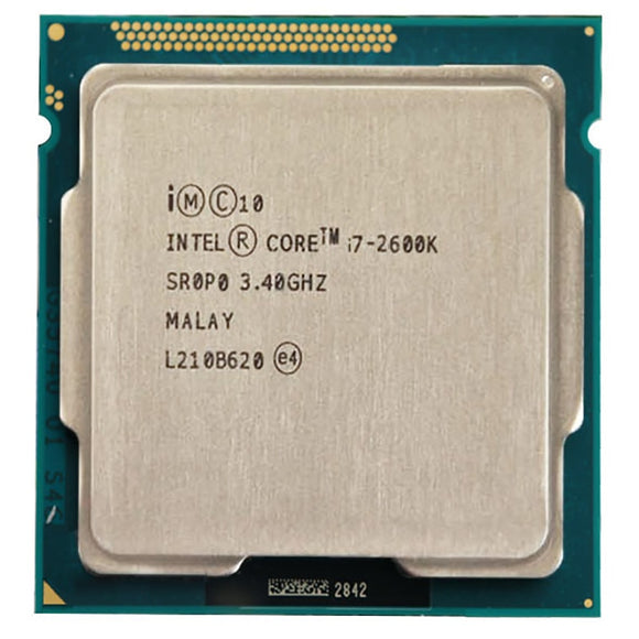 Intel Core i7-2600K 3.40GHz - Socket LGA1155 - Rebuild IT