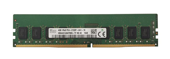 HMA451U6AFR8N-TFN0-AC Hynix 4GB PC4-17000 DDR4-2133MHz non-ECC Unbuffered CL15 288-Pin DIMM 1.2V
