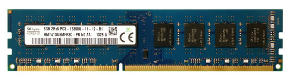 HMT41GU6MFR8C-PBN0-AA Hynix 8GB PC3-12800 DDR3-1600MHz non-ECC Unbuffered CL11 240-Pin DIMM